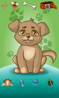 Download free mobile game: Talking dog - download free games for mobile phone.