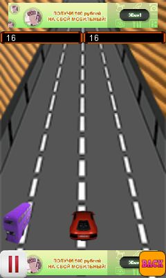 Download free game for mobile phone: Freaky сar race - download mobile games for free.
