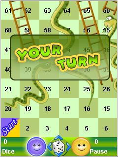 Download free game for mobile phone: Snake and ladder - download mobile games for free.