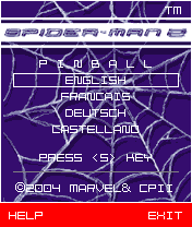 Download free mobile game: Spider-man 2: Pinball - download free games for mobile phone.