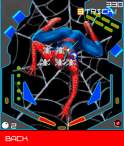 Mobile game Spider-man 2: Pinball - screenshots. Gameplay Spider-man 2: Pinball.