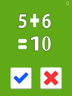 Jeu mobile Maths difficiles - captures d'écran. Gameplay Freaking math.