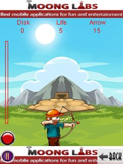Download free game for mobile phone: Disk shooter by MoongLabs - download mobile games for free.