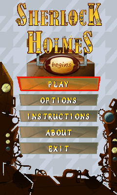 Download free mobile game: Sherlock Holmes: Begins - download free games for mobile phone.