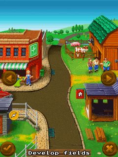 Download free game for mobile phone: My little farm 2 - download mobile games for free.
