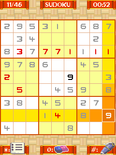Mobile game Absolute sudoku - screenshots. Gameplay Absolute sudoku.