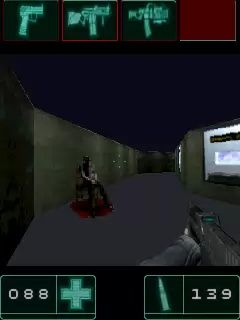 Jeu mobile F.E.A.R.: Unité fédérale d'une réponse agressive - captures d'écran. Gameplay F.E.A.R.: First encounter assault recon.