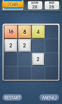 Mobile game 2048: Saga - screenshots. Gameplay 2048: Saga.