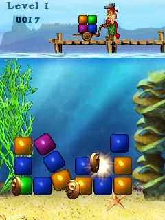 Jeu mobile Cubes - captures d'écran. Gameplay Cubes.