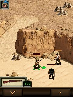 Jeu mobile Force de l'agent secret - captures d'écran. Gameplay Force recon by Shamrock games.