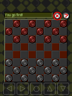 Download free game for mobile phone: Checkers: Smart bunny - download mobile games for free.