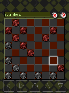 Mobile game Checkers: Smart bunny - screenshots. Gameplay Checkers: Smart bunny.
