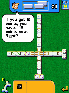 Mobile game Dominoes deluxe - screenshots. Gameplay Dominoes deluxe.