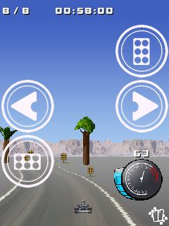 Jeu mobile Manie de karting 2 - captures d'écran. Gameplay Go kart mania 2.