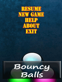 Download free mobile game: Bouncy balls - download free games for mobile phone.