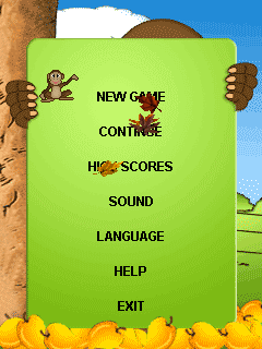 Download free mobile game: Crazy monkey - download free games for mobile phone.
