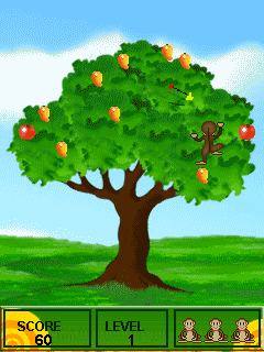 Download free game for mobile phone: Crazy monkey - download mobile games for free.
