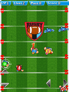 Download free game for mobile phone: Rugby challenge - download mobile games for free.