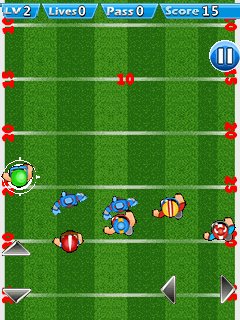 Mobile game Rugby challenge - screenshots. Gameplay Rugby challenge.