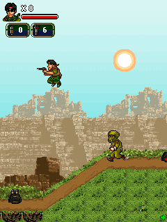 Mobile game Metal soldier 2 - screenshots. Gameplay Metal soldier 2.