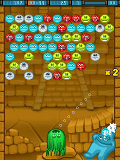Mobile game Monsters bubbles - screenshots. Gameplay Monsters bubbles.