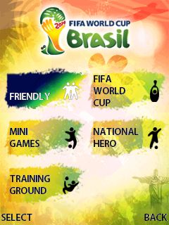 Download free mobile game: 2014: FIFA World cup Brazil - download free games for mobile phone.