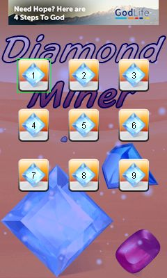 Download free game for mobile phone: Diamond miner - download mobile games for free.