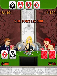 Jeu mobile Roi du poker - captures d'écran. Gameplay King of poker.