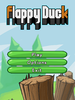 Download free mobile game: Flappy duck - download free games for mobile phone.