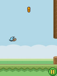 Download free game for mobile phone: Flappy duck - download mobile games for free.