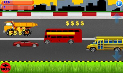 Download free game for mobile phone: Highway traffic: Car race - download mobile games for free.