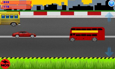 Mobile game Highway traffic: Car race - screenshots. Gameplay Highway traffic: Car race.