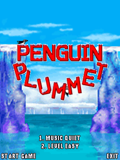 Download free mobile game: Plummet penguin - download free games for mobile phone.