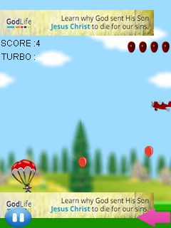 Download free game for mobile phone: Crazy parachute jump - download mobile games for free.