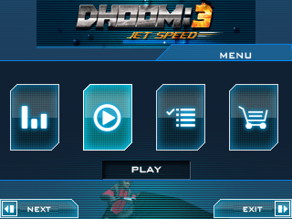 Download free mobile game: Dhoom 3: Jet speed - download free games for mobile phone.