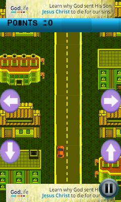 Jeu mobile Presse sur le chemin - captures d'écran. Gameplay Rush on road.