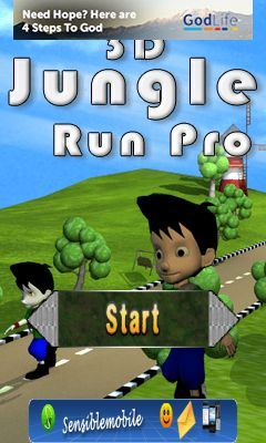 Download free mobile game: 3D jungle run pro - download free games for mobile phone.