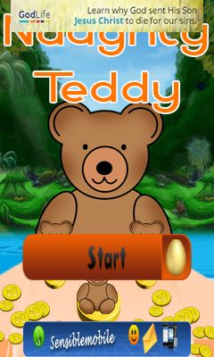 Download free mobile game: Naughty Teddy - download free games for mobile phone.