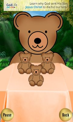 Download free game for mobile phone: Naughty Teddy - download mobile games for free.