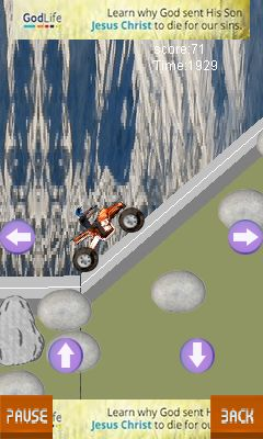 Download free game for mobile phone: Everest biking - download mobile games for free.
