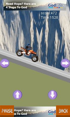 Mobile game Everest biking - screenshots. Gameplay Everest biking.