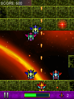 Download free game for mobile phone: Invaders strike 2 - download mobile games for free.
