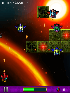 Mobile game Invaders strike 2 - screenshots. Gameplay Invaders strike 2.