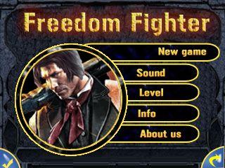 Download free mobile game: Freedom fighter - download free games for mobile phone.