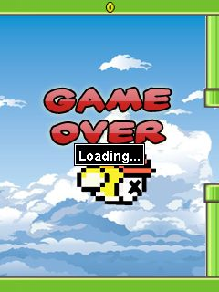 Mobile game Flappy bird: Reloaded - screenshots. Gameplay Flappy bird: Reloaded.