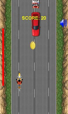 Mobil-Spiel Ultimativer Bike Rider - Screenshots. Spielszene Ultimate bike rider.