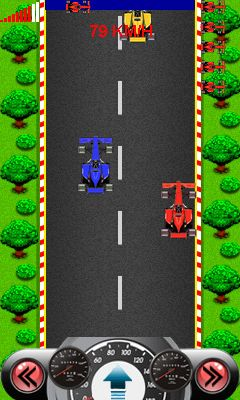 Mobile game F3: Ultimate race - screenshots. Gameplay F3: Ultimate race.