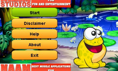 Download free mobile game: Frog dash - download free games for mobile phone.