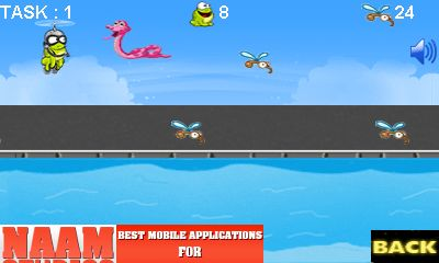 Download free game for mobile phone: Frog dash - download mobile games for free.