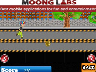 Jeu mobile Coureur de rue - captures d'écran. Gameplay Substreet runner.